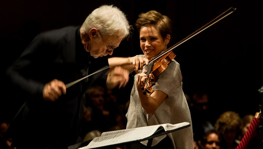 John Adams conducts John Adams — With Leila Josefowicz