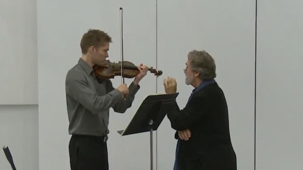 Master Class with Jordi Savall (IV/VI)