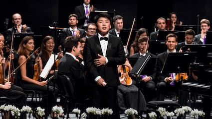 George Li plays Saint-Saëns's Piano Concerto No. 2