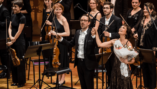 Julien Chauvin plays and conducts Haydn, Sarti, Guénin, and Bach – With Sandrine Piau