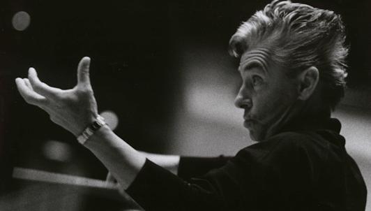 Herbert von Karajan conducts Beethoven's Symphony No. 1