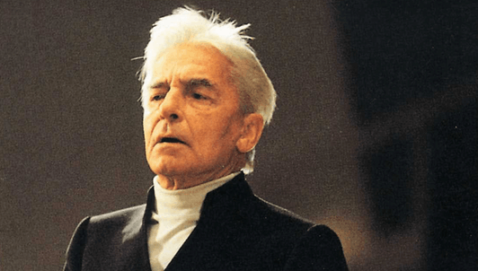 """Herbert von Karajan conducts Beethoven's Symphony No. 3 """"Eroica"""""""