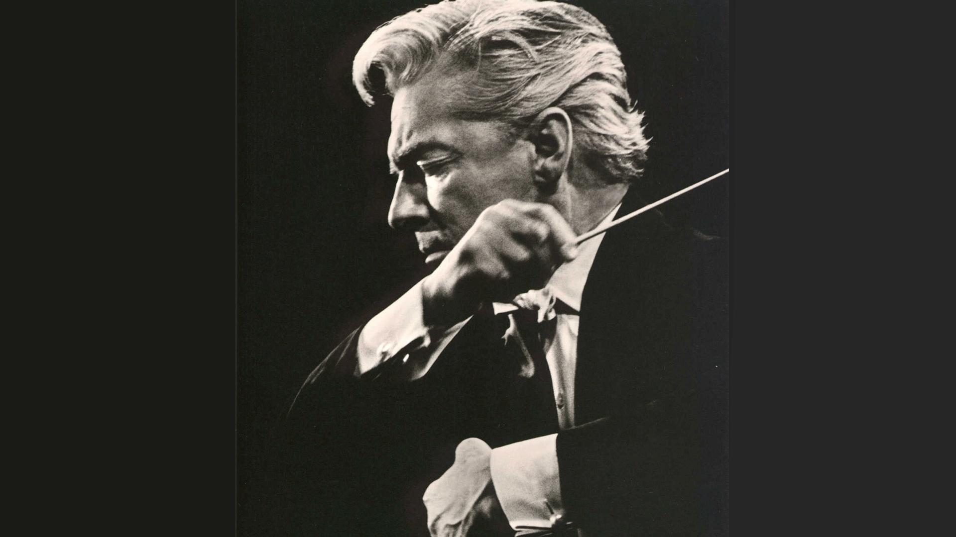Herbert von Karajan conducts Bruckner's Symphony No. 9