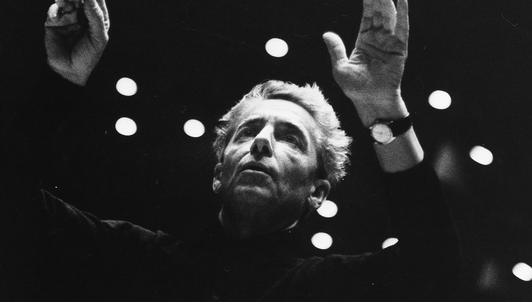 Herbert von Karajan conducts an all-French concert program of Debussy and Ravel