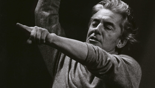 Herbert von Karajan conducts the 1985 New Year's Eve Concert