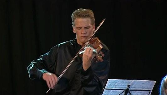 Kirill Troussov and Alexandra Troussova perform Brahms, Vitali, Ysaye and Tchaikovsky