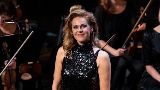 Kristine Opolais sings famous Italian opera arias