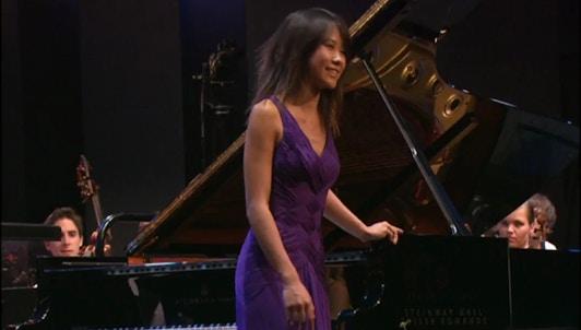 Kurt Masur conducts Yuja Wang and the VFO in a Mendelssohn programm