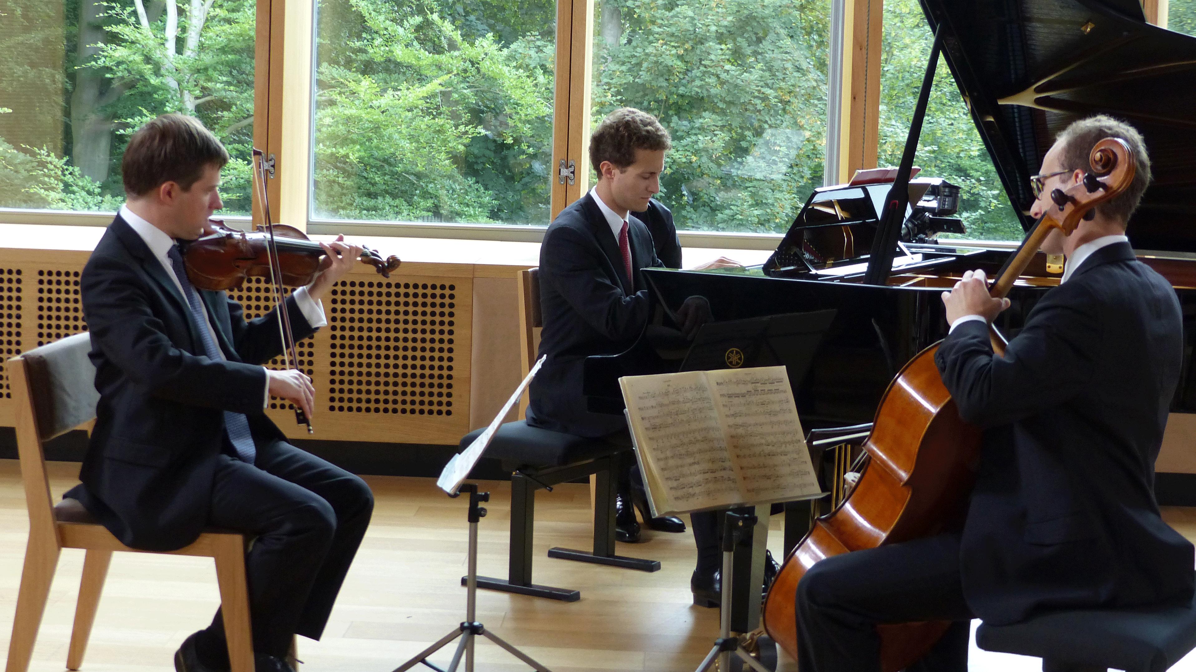Le Busch Trio, Miguel da Silva et Maria Milstein jouent des Trios, Quatuors et Quintettes de Dvořák