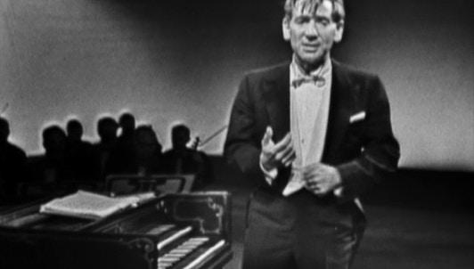 Leonard Bernstein : La Musique de Jean-Sébastien Bach – Omnibus