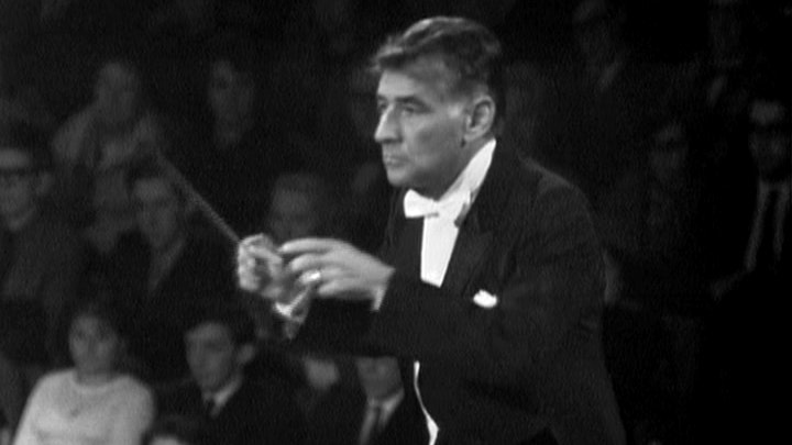 Bernstein conducts Stravinsky's The Rite of Spring and Sibelius's Symphony No. 5