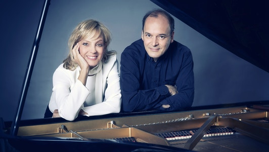 Louis Lortie and Hélène Mercier play Arensky, Debussy, and Ravel