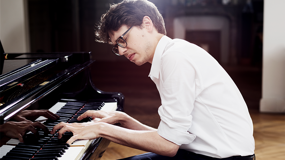 Lucas Debargue plays Scarlatti, Medtner, and Liszt