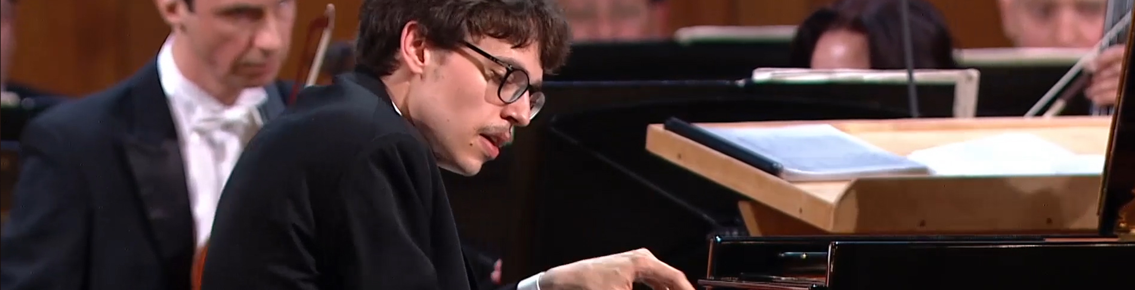 Lucas Debargue plays Bach, Beethoven, and Liszt