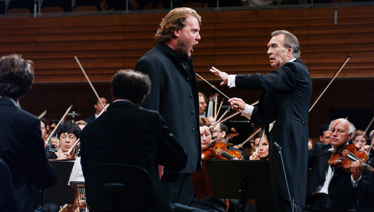 Claudio Abbado conducts Wagner and Debussy – With Bryn Terfel