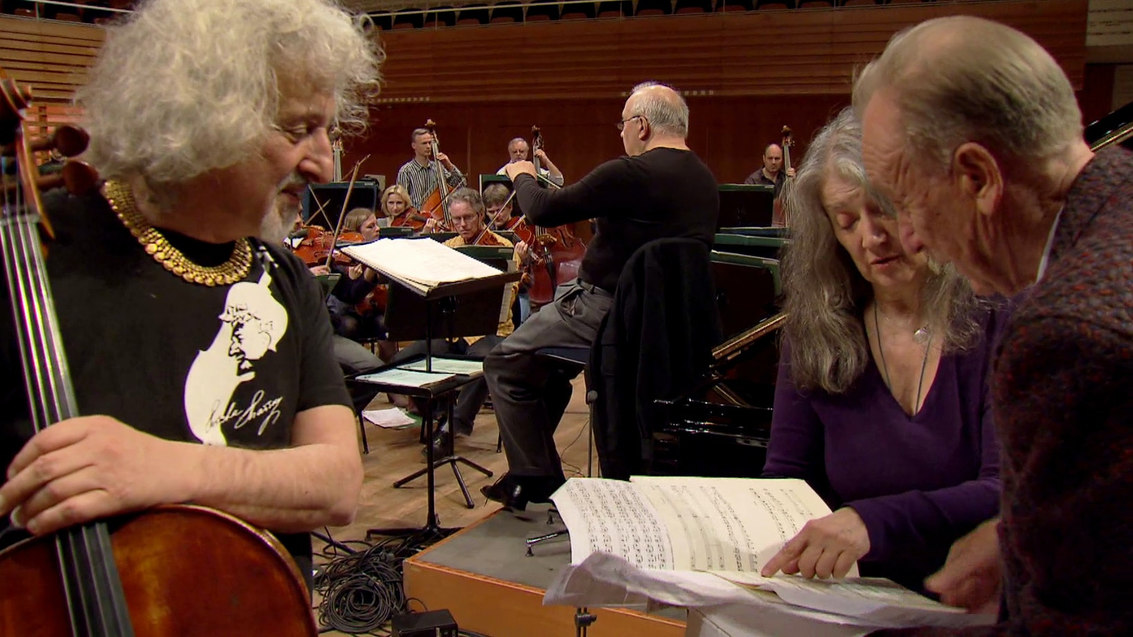 Behind the Scenes with Rodion Shchedrin, Martha Argerich and Mischa Maisky