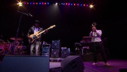Marcus Miller et Christian Scott en direct à l'Auditorium de Lyon