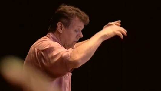 Mariss Jansons rehearses Bartók's Suite from The Miraculous Mandarin