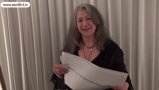 Martha Argerich : Interview