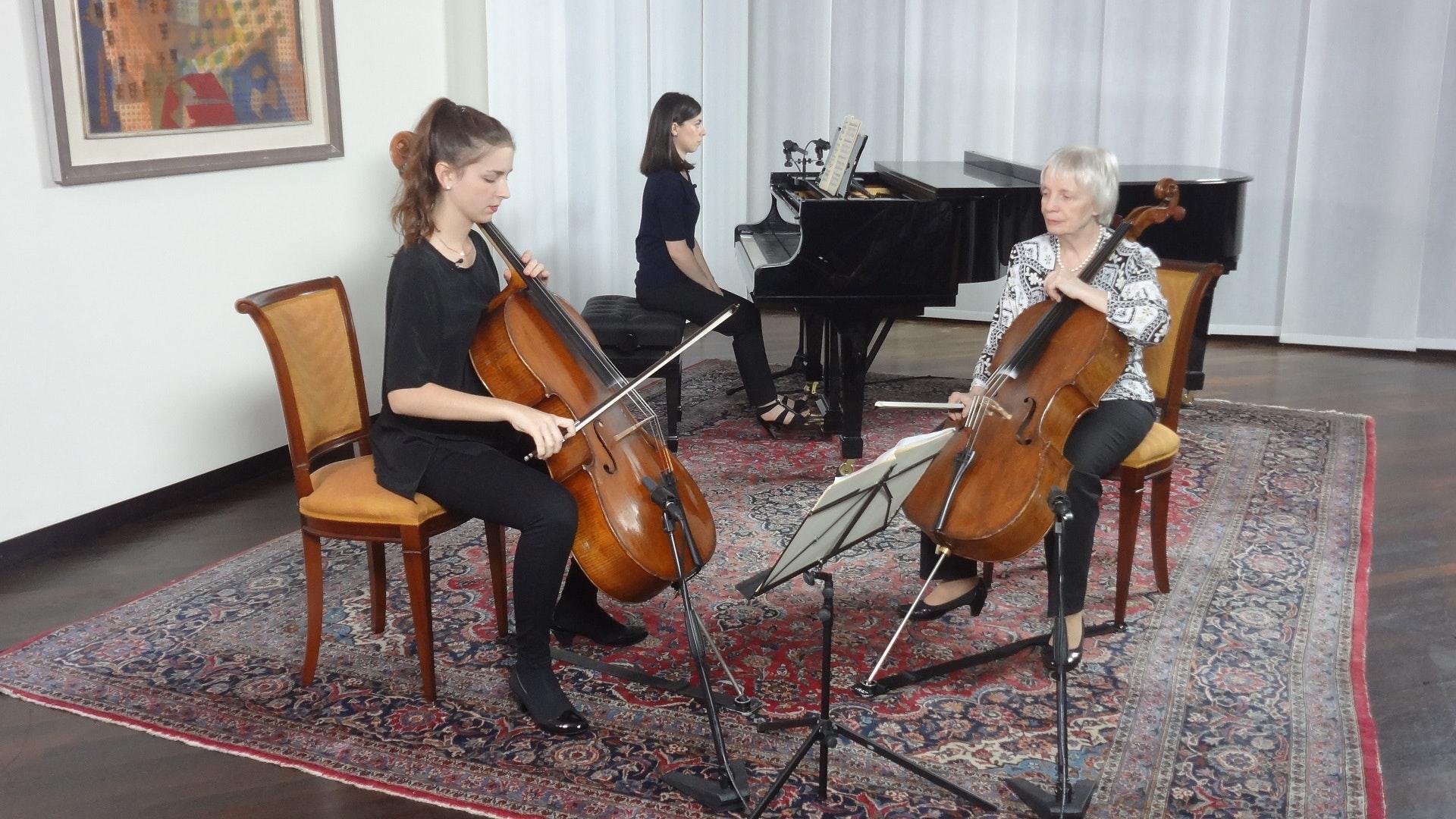 Master Class de Maria Tchaikovskaya (II/III)