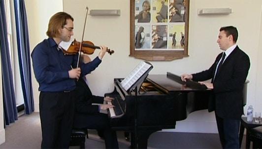 Maxim Vengerov enseigne Britten : Concerto pour violon
