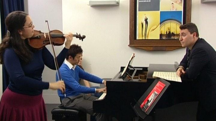 Maxim Vengerov teaches Mozart: Violin Concerto No. 3