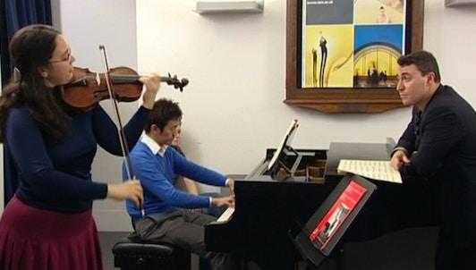 Maxim Vengerov enseigne Mozart : Concerto pour violon n°3