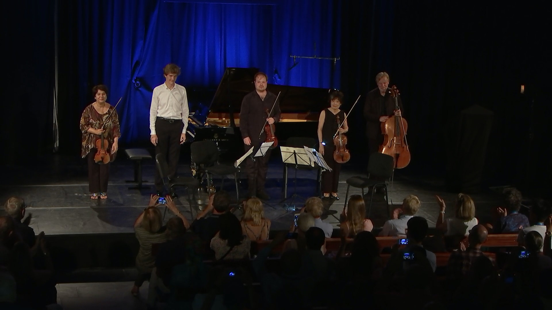 The Michelangelo String Quartet and Jan Lisiecki play Schubert, Bartók, and Schumann