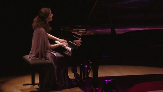 Nathalia Milstein plays Bach, Ravel, Debussy, Chopin, and Ravel
