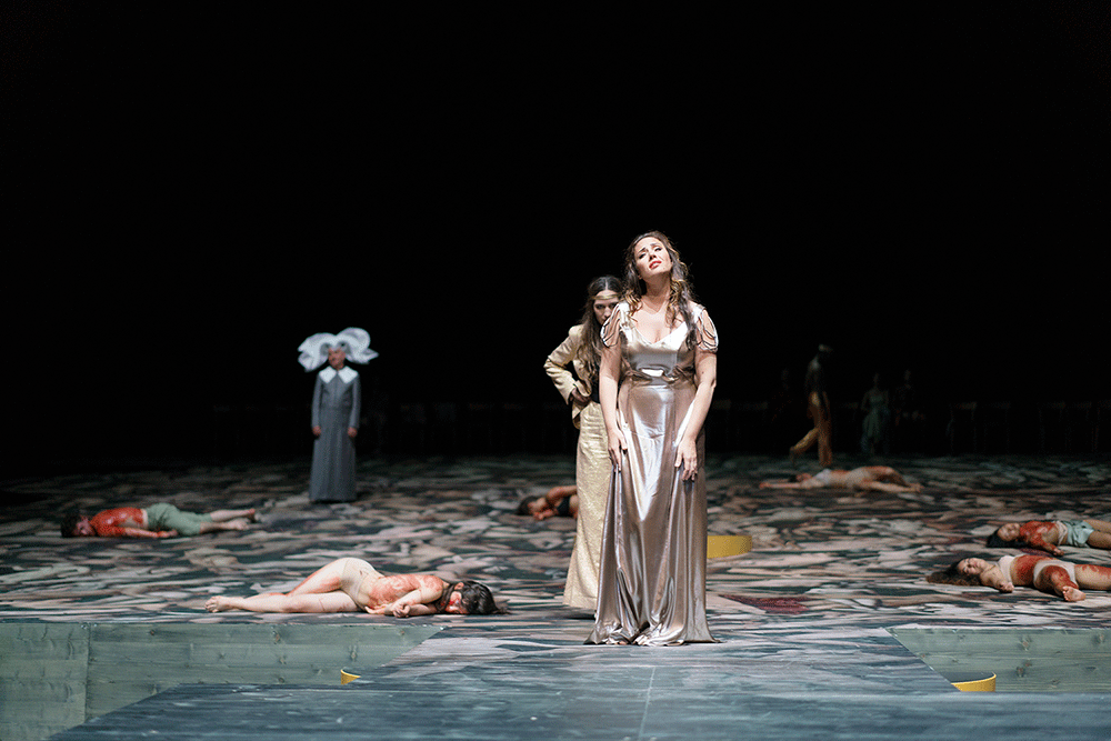 Le Couronnement de Poppée de Monteverdi