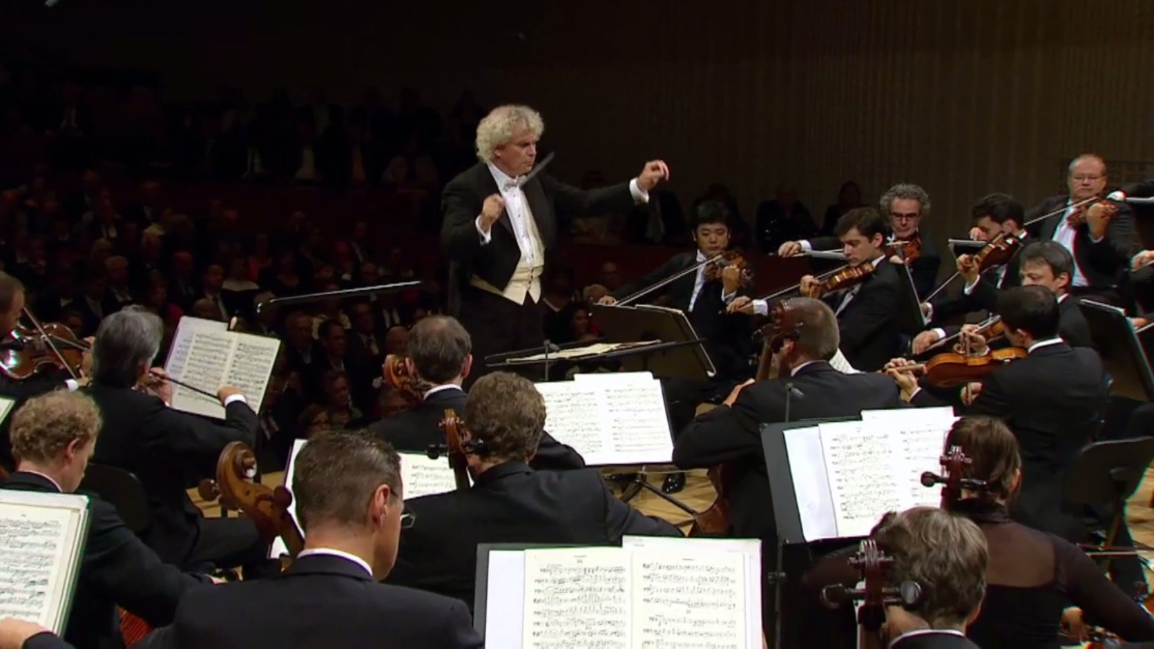 Sir Simon Rattle conducts Ligeti, Wagner, Sibelius, Debussy and Ravel