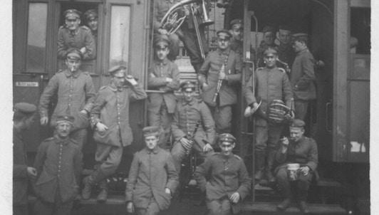 La musique au temps de la Grande Guerre
