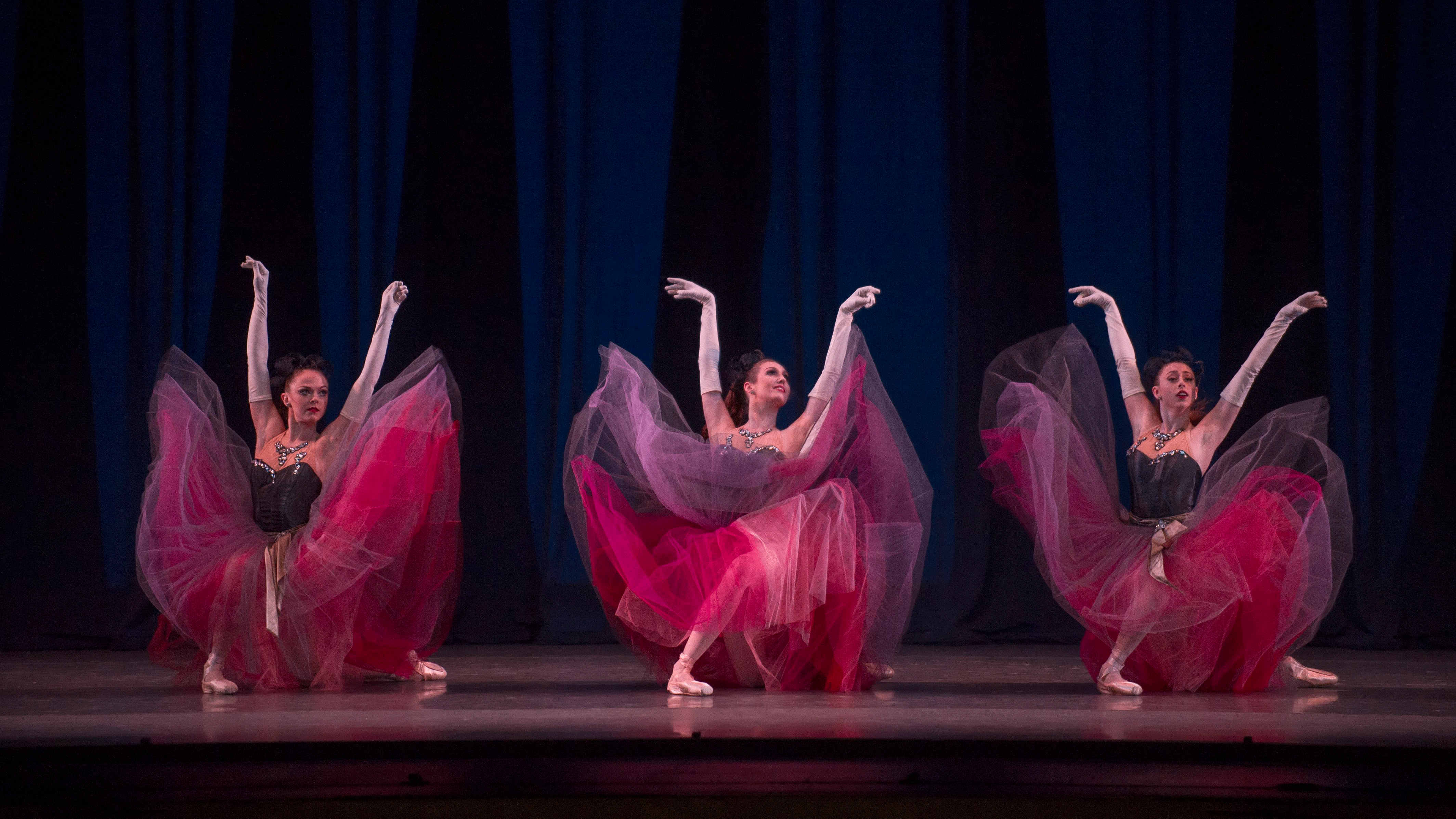 Four masterpieces by George Balanchine, music by French composers
