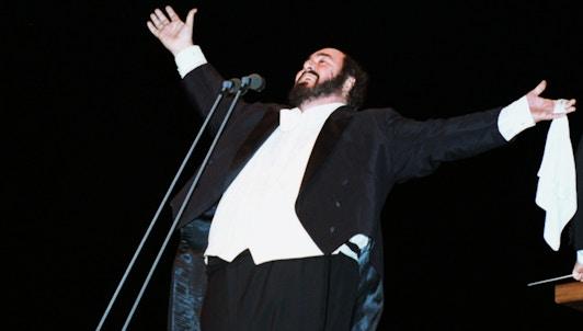 Luciano Pavarotti: Retrato