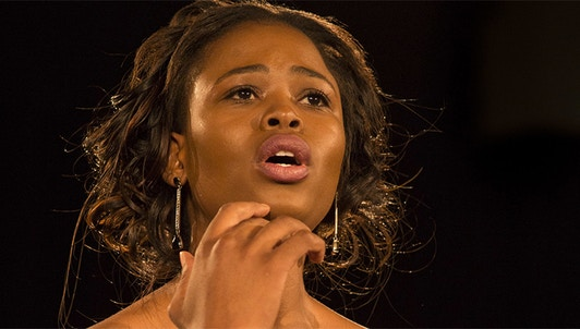 Pretty Yende and James Vaughan perform melodies from the 19th and 20th centuries