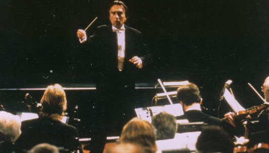 Claudio Abbado conducts Prometheus: Musical Variations on a Myth — With Martha Argerich and the Berliner Philharmoniker
