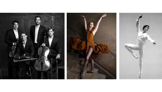 The Modigliani Quartet performs Ravel and Schubert — With Agnès Letestu and Florent Melac