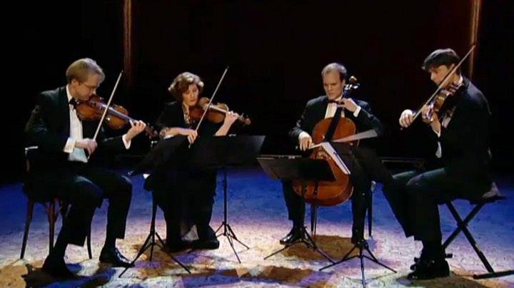 The Artemis Quartet interprets Beethoven, Verdi and Webern