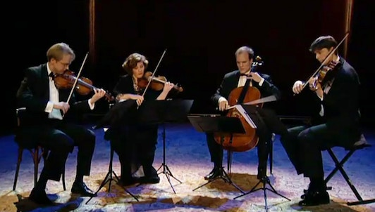 The Artemis Quartet interprets Beethoven, Verdi and Webern