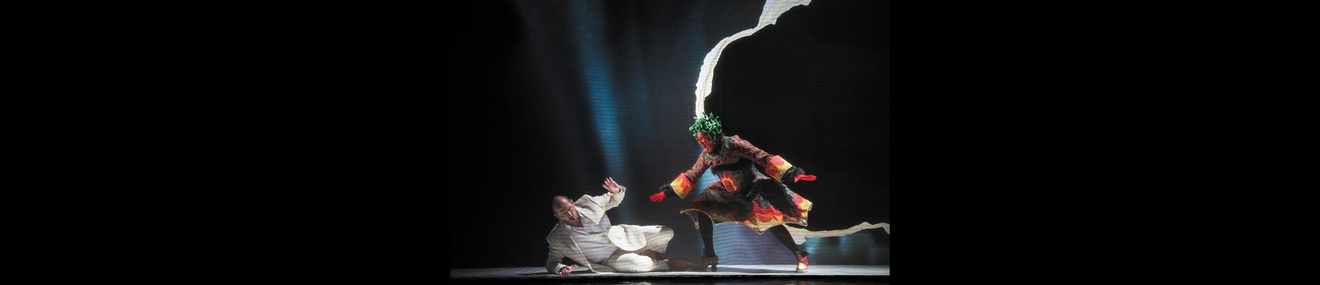 Dans les coulisses de Hippolyte et Aricie de Rameau au Festival de Glyndebourne en 2013