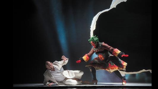 Dans les coulisses : Hippolyte et Aricie de Rameau au Festival de Glyndebourne en 2013