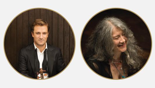 Renaud Capuçon et Martha Argerich interprètent Beethoven, Franck et Prokofiev