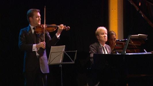 Renaud Capuçon, Jean-Yves Thibaudet, Kim Kashkashian and Stephen Kovacevich play Kurtag, Brahms and Franck