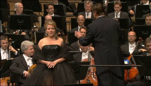 Renee Fleming and Christian Thielemann in a Strauss programme