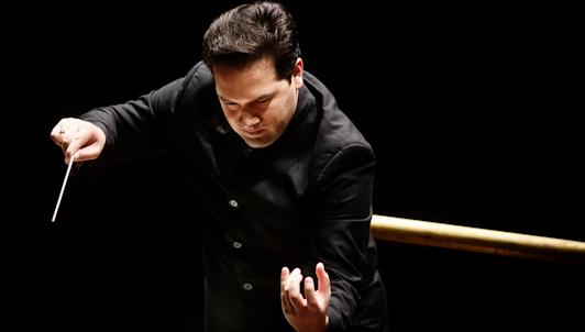 Robert Trevino conducts Svetlanov, Prokofiev, and Rachmaninov – With Vadim Repin, Ekaterina Morozova, Bogdan Volkov, Piotr Migunov...