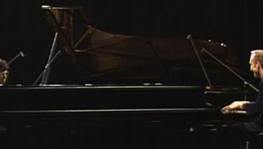 Rodion Shchedrin improvise avec Chick Corea et Nicolas Economou