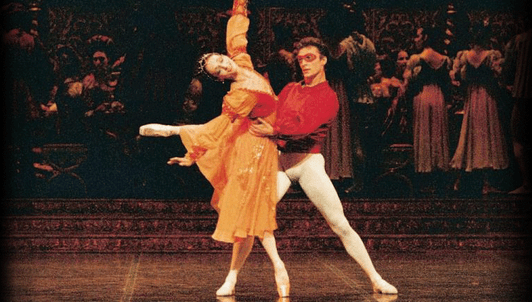 Romeo and Juliet by Nureyev, music by Prokofiev