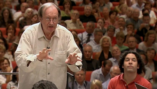 School for the Ear, Nikolaus Harnoncourt in rehearsal with the Simón Bolívar Youth Orchestra of Venezuela (I/II)