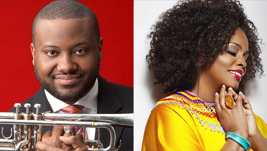 Sean Jones plays and conducts American big band standards and a German premiere from Miguel Zenón – With Dianne Reeves