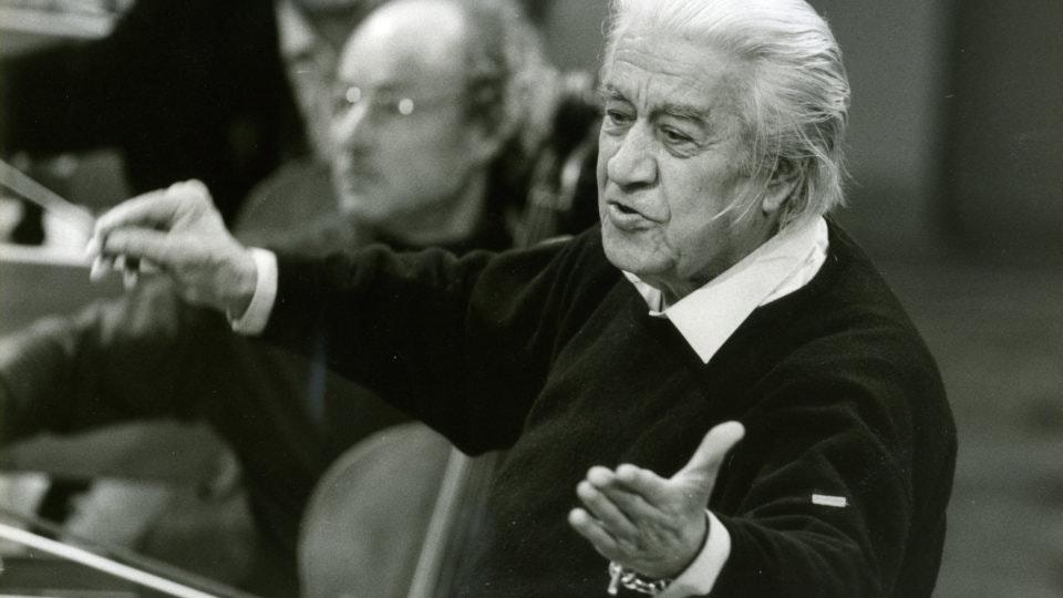 Sergiu Celibidache, the triumphant return